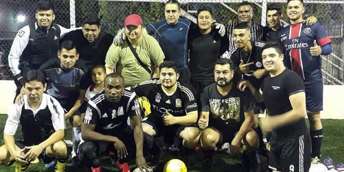 ¡Del futbol internacional al amateur! Joffre Guerrón sorprendió en liga de Futbol 7