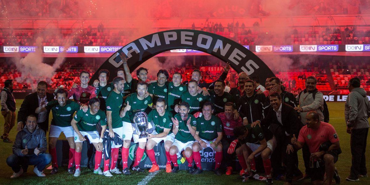 México vence a España en la 'Copa de Leyendas'