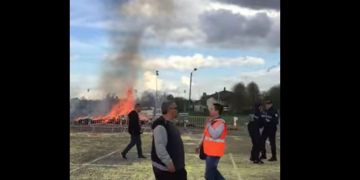 Explosión en feria de París deja 18 heridos