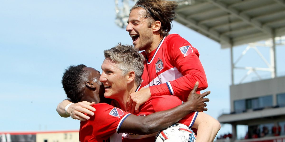 VIDEO: Bastian Schweinsteiger debutó con gol en la MLS