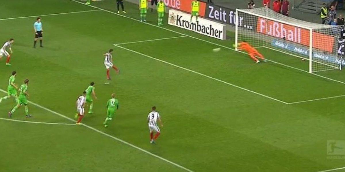 VIDEO: Así falló el penalti Fabián, que pudo ser del triunfo para Eintracht