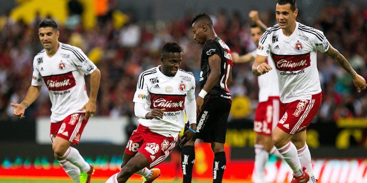 ¡Feria de goles! Atlas y Tijuana empatan 3-3 con golazo y penal fallado incluídos