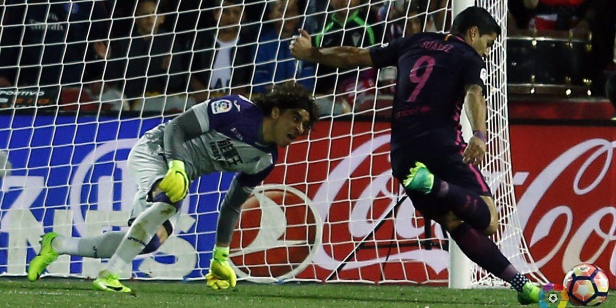 Ochoa y el Granada son goleados por el Barcelona