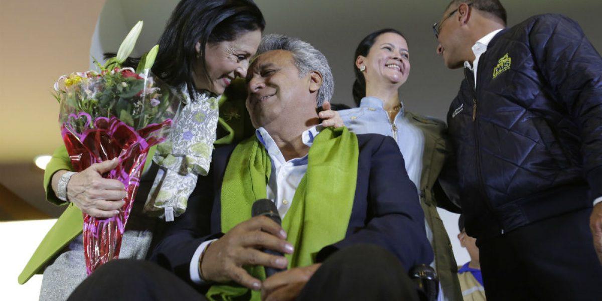 Ecuador: conteo oficial da victoria a Lenín Moreno