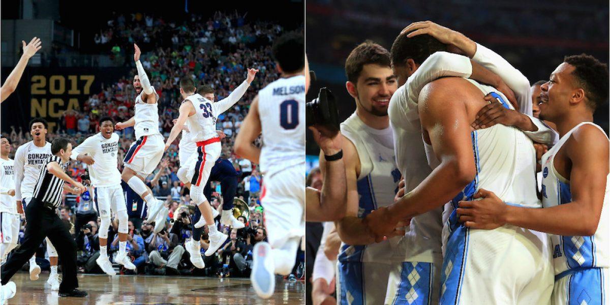 Gonzaga y North Carolina disputarán el título del Final Four de la NCAA