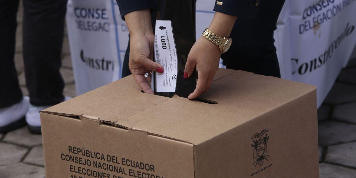 Minuto a minuto: Ecuador elige a su nuevo presidente