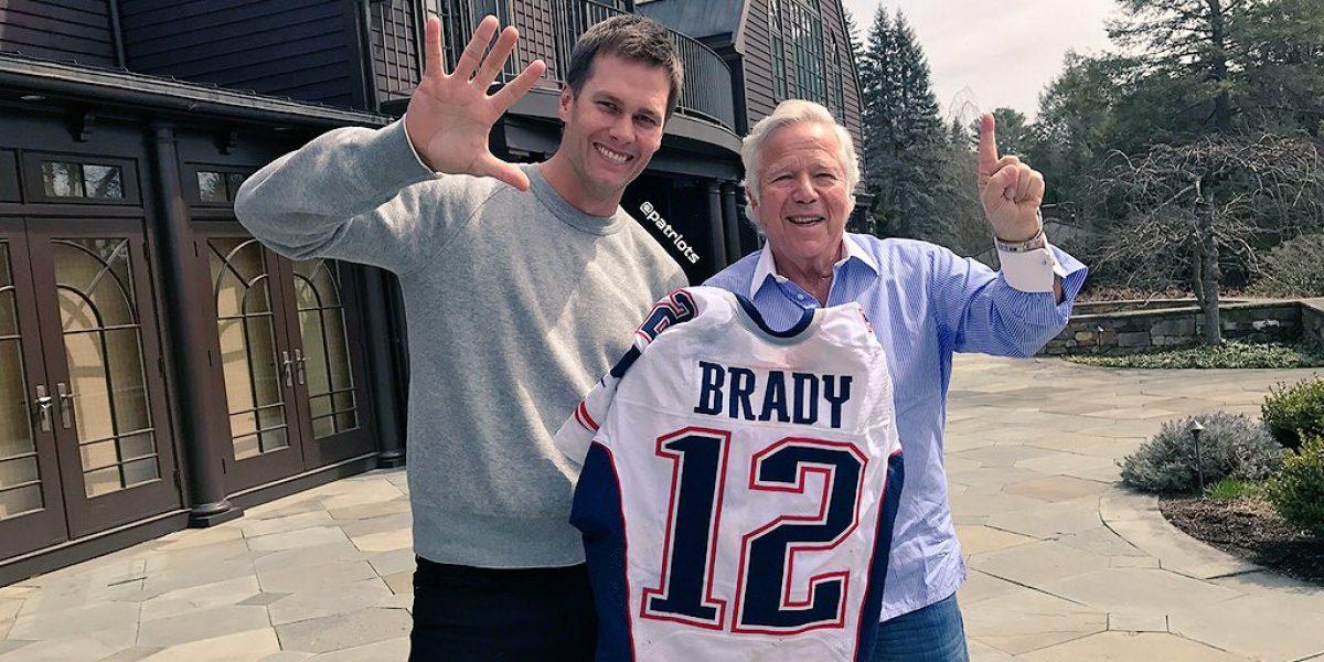 Tom Brady recupera los jerseys que le fueron robados