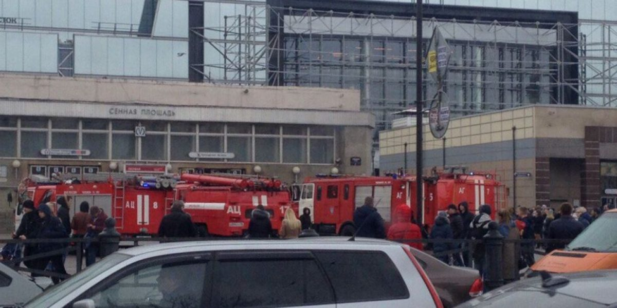 Los héroes en medio del horror de San Petersburgo
