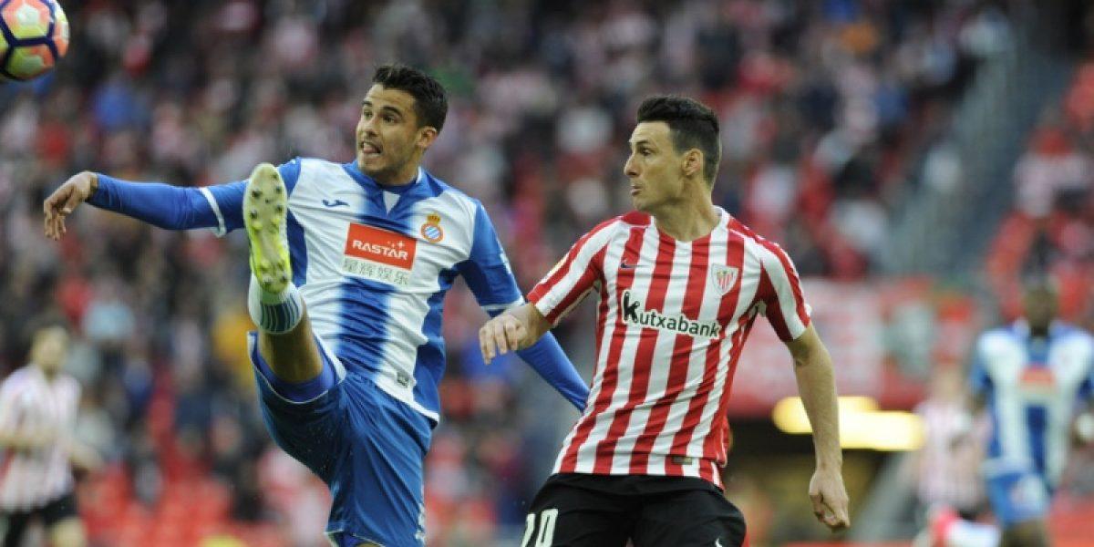 Diego Reyes y el Espanyol caen ante el Athletic