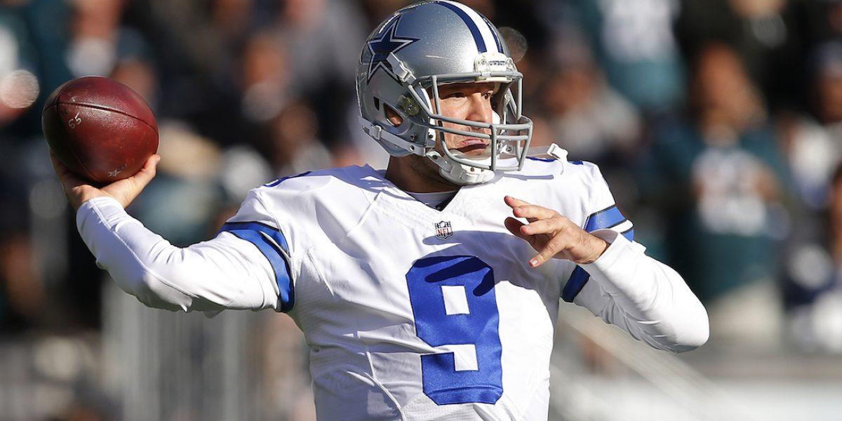 Tony Romo se retira del futbol americano, ¡para ser comentarista de televisión!