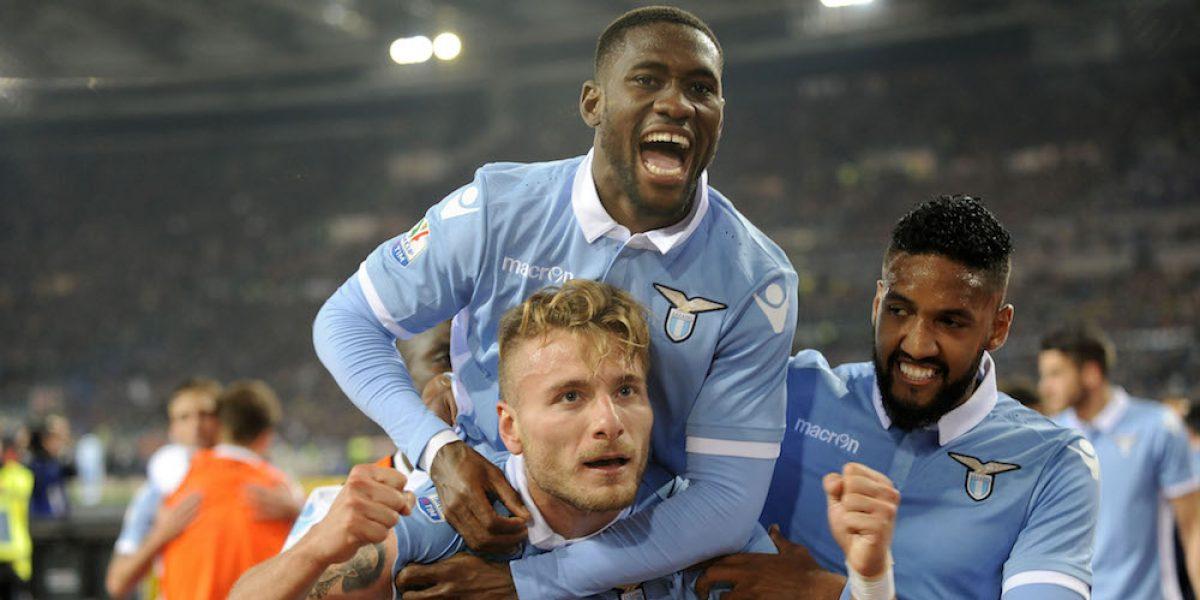 La Lazio avanza a la final de la Copa Italia por encima de la Roma