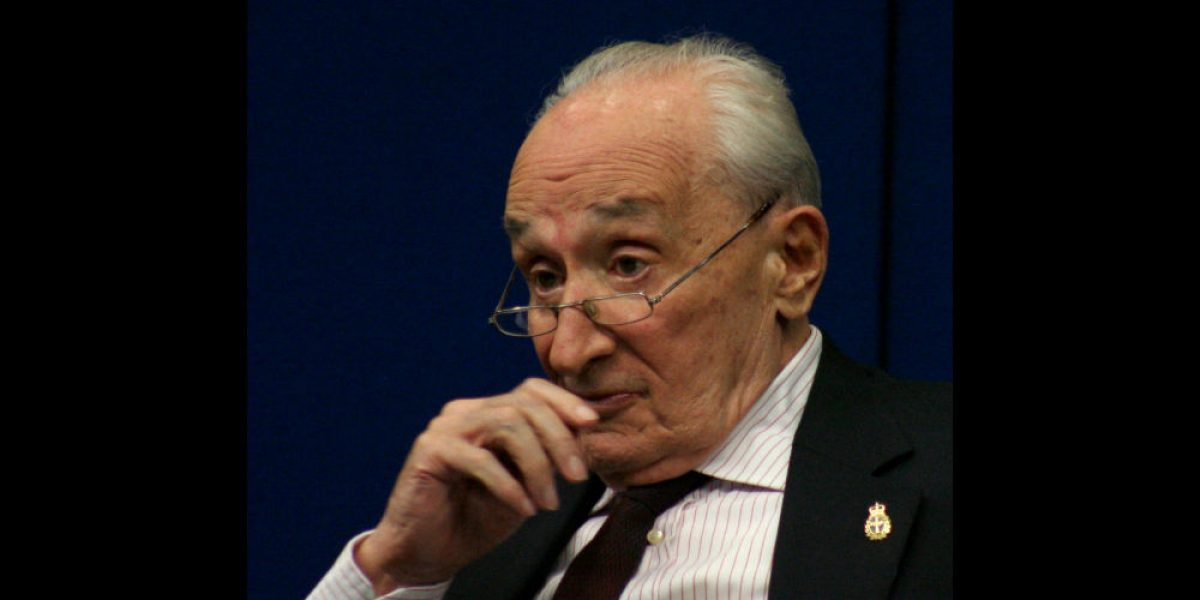 Muere a los 92 años Giovanni Sartori