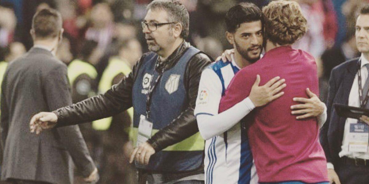 Griezmann quiere volver a jugar al lado de Carlos Vela