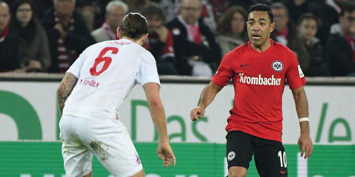 Marco Fabián y el Eintracht Frankfurt no levantan