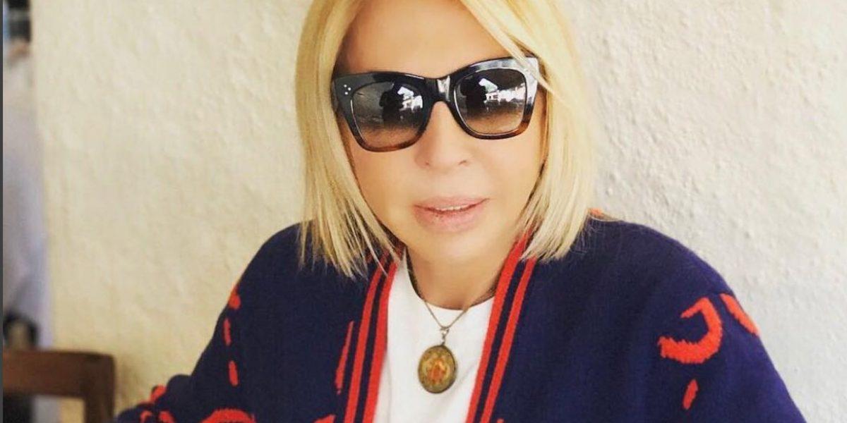 Laura Bozzo publica foto en el hospital y revela su delicado estado de salud