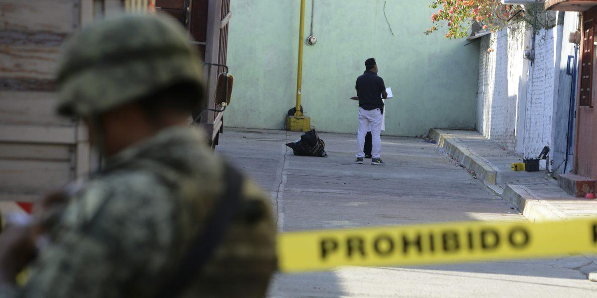 México baja índice de paz por alza en muertes con arma de fuego