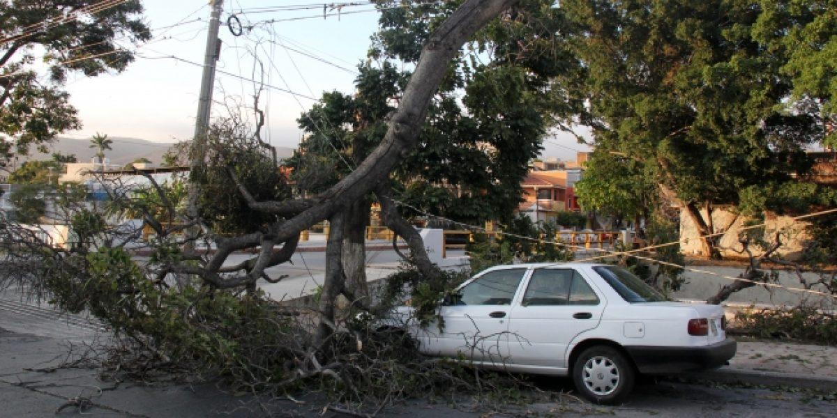 Fuertes vientos se presentarán en estados del norte del país