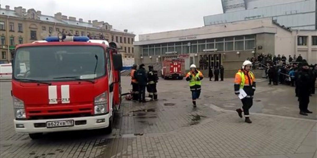 Vuelven a cerrar estación de metro en San Petersburgo por nueva amenaza de bomba