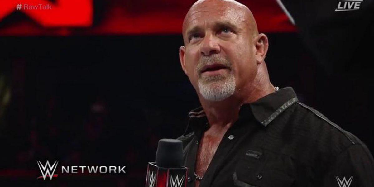VIDEO: ¡Otro adiós! Goldberg se despidió de WWE tras caer en Wrestlemania 33