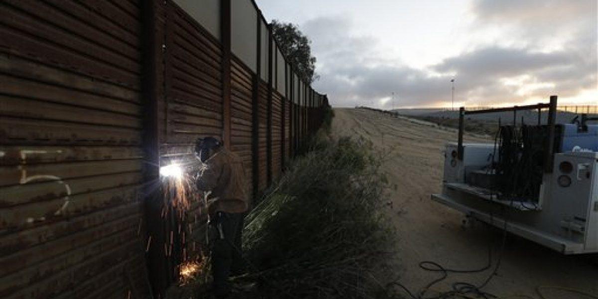 EU sólo tiene recursos para el prototipo del muro fronterizo