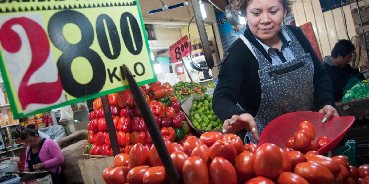 Inflación en México duplica promedio de la OCDE