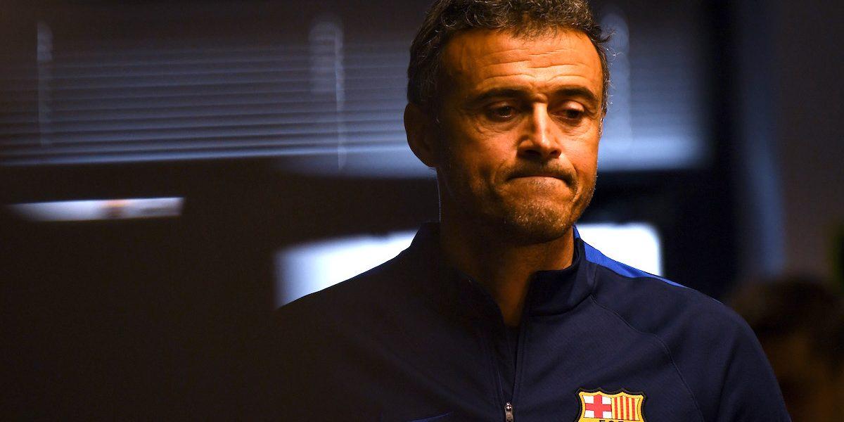 Confirma Luis Enrique que no hay marcha atrás; se va del Barça