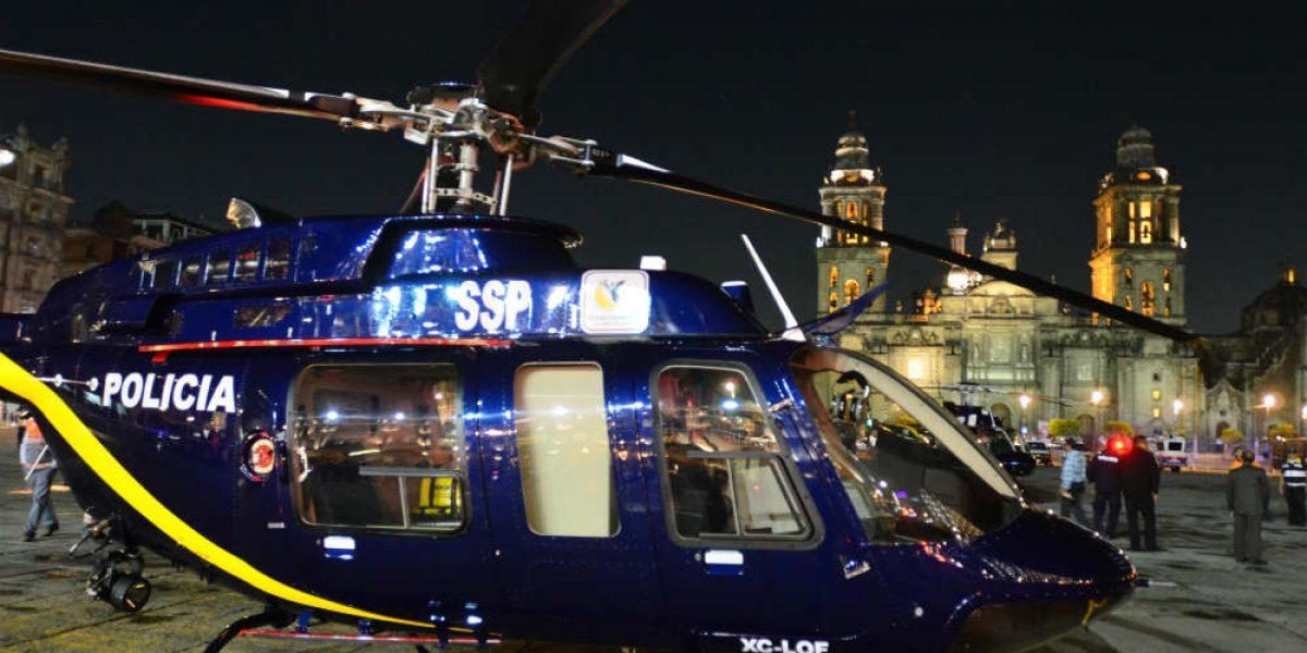 Helicópteros vigilarán que se respete límite de velocidad