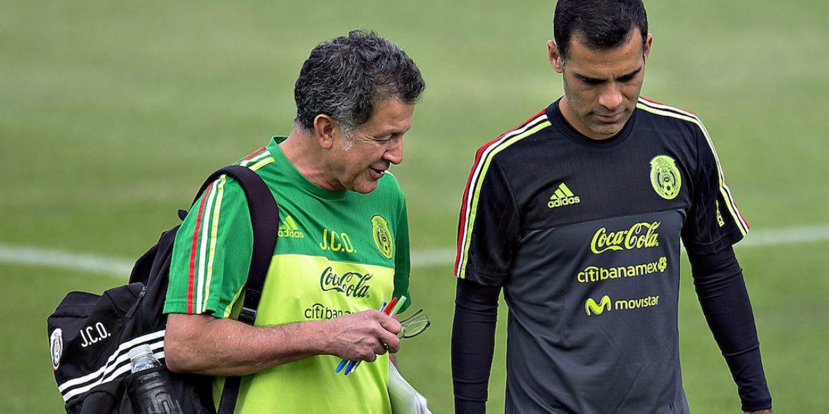 Juan Carlos Osorio desea que Márquez juegue Confederaciones y Mundial