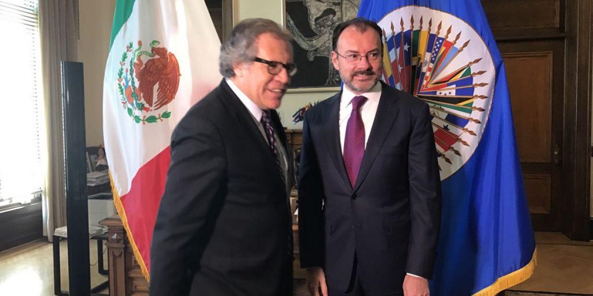 México abierto para renegociar el TLCAN: Videgaray