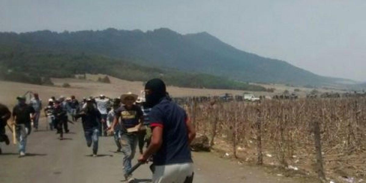 VIDEO: Enfrentamiento entre policías y comuneros deja dos muertos en Michoacán