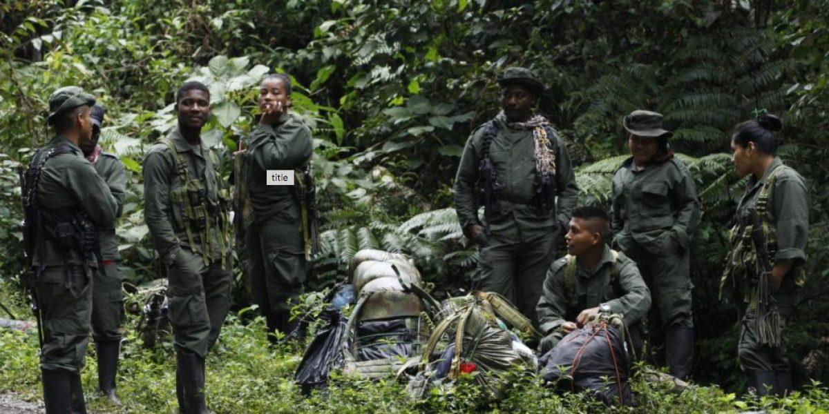 FARC entrega lista de 6,804 guerrilleros listos para desmovilizarse