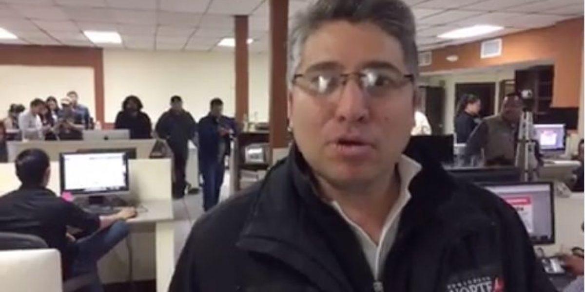 Periodistas del Norte de Ciudad Juárez se despiden con este video