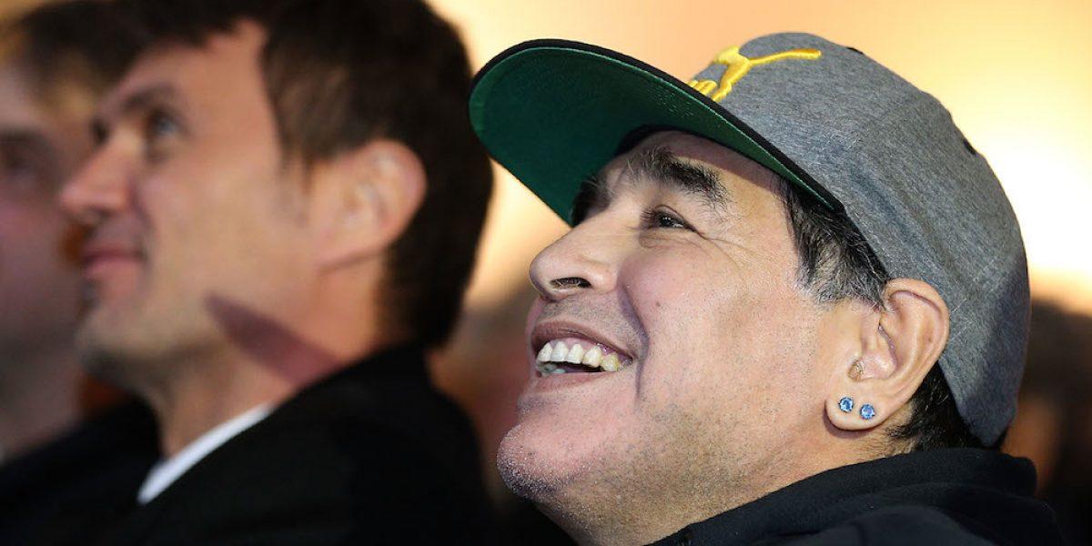 Maradona se enfurece y amenaza a la marca Konami por el uso de su imagen