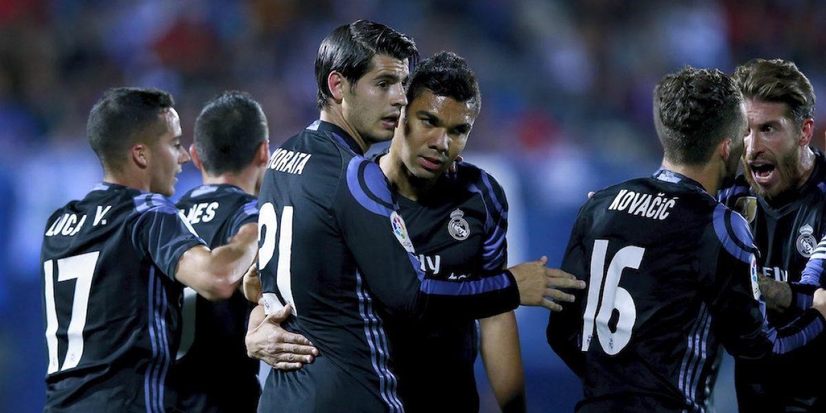 Real Madrid no cede el liderato de la Liga española