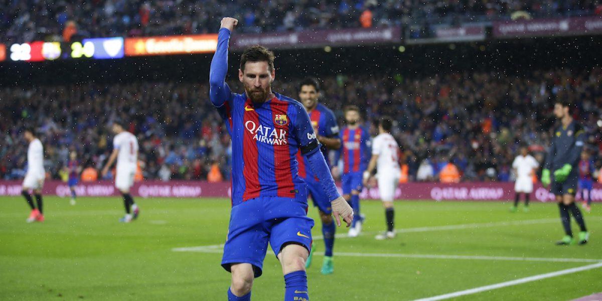 Messi comanda al Barcelona en triunfo sobre el Sevilla