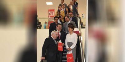 Se burla internet de la primera escalera eléctrica inaugurada en Tlaxcala