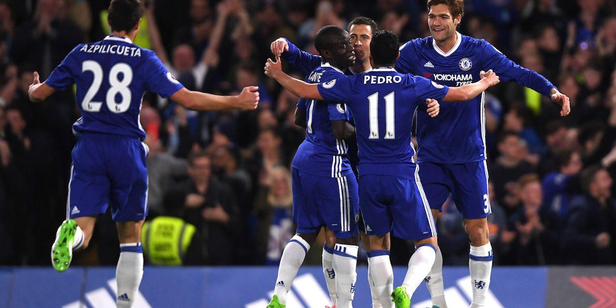 Chelsea acaricia cada vez más el título de la Liga Premier