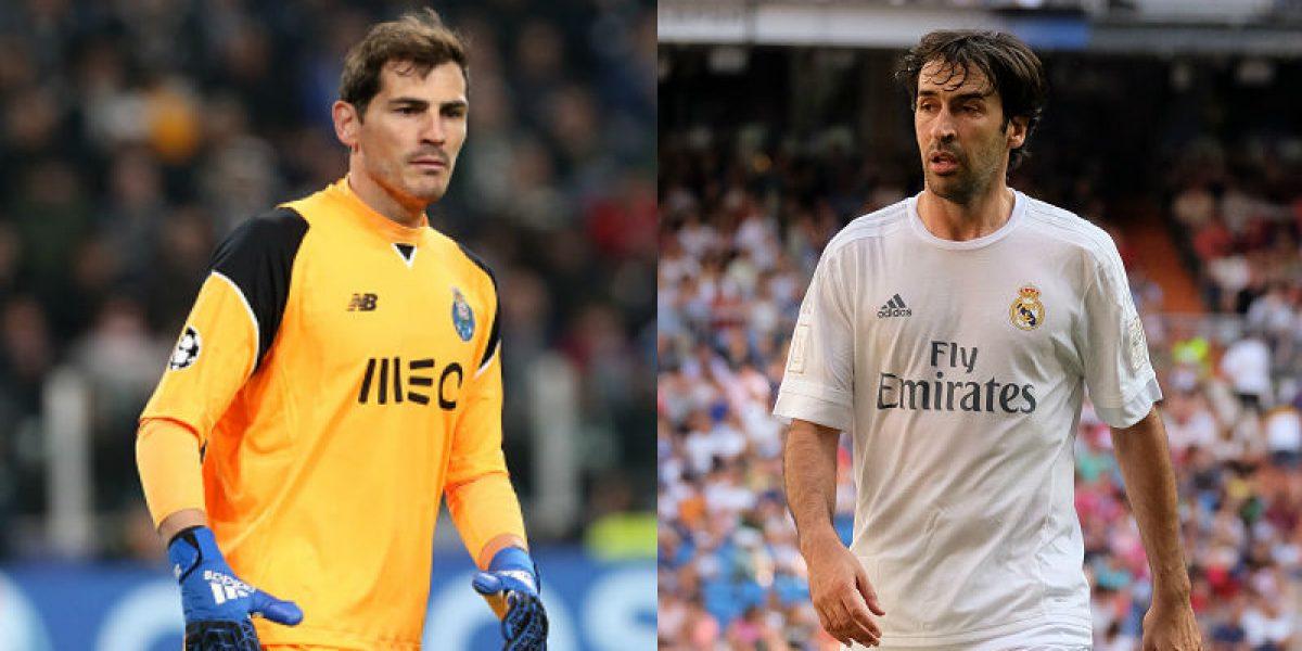 Casillas y Raúl, los futbolistas que más kilómetros han recorrido en el mundo
