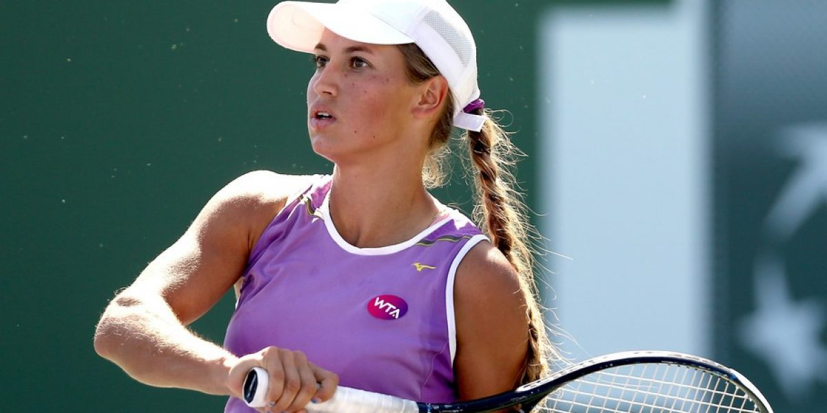 VIDEO: Penosa reacción de la tenista Putintseva al no reconocer su derrota ¡Ardida!