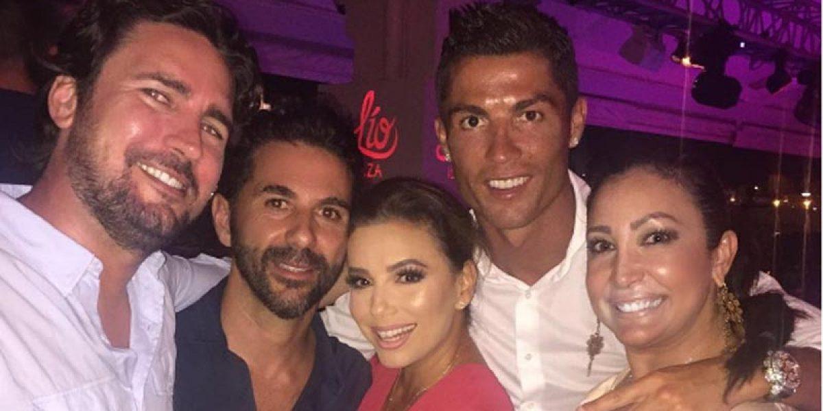 Cristiano Ronaldo dejó plantada a Eva Longoria