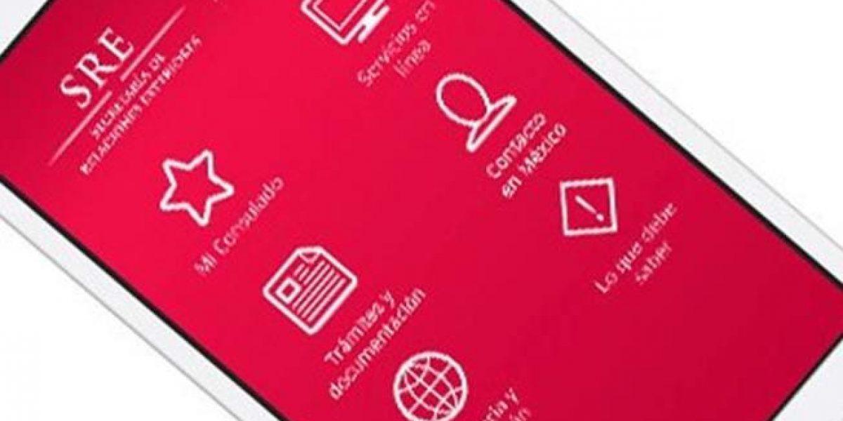 SRE lanza app para brindar asistencia consular a mexicano en EU
