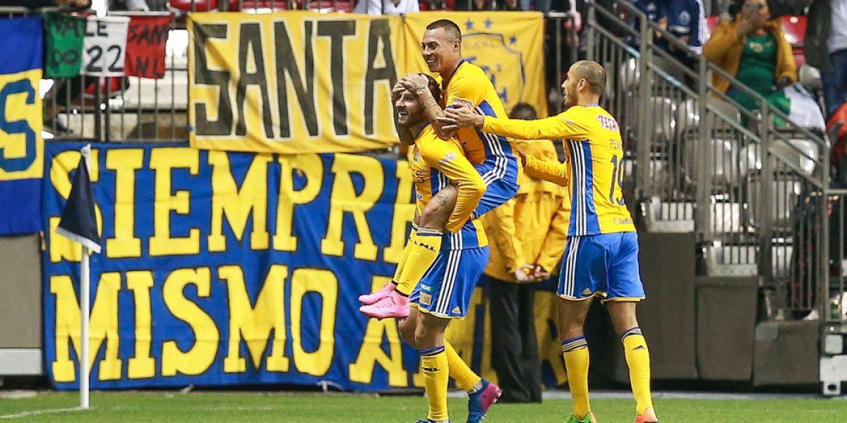 Tigres va a su segunda final de Concachampions