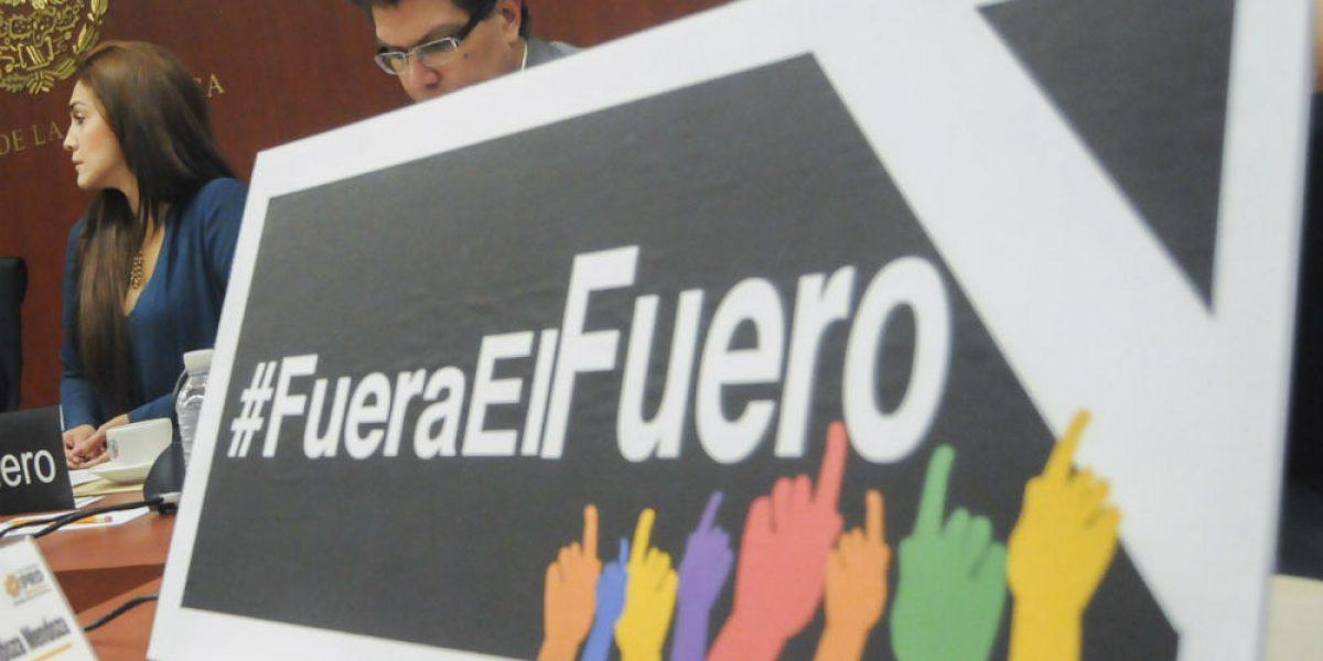 Por México #FueraElFuero