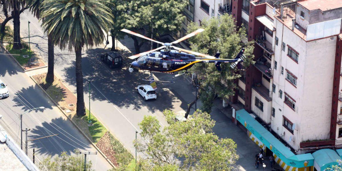 Cámaras en helicóptero servirán también para persecuciones