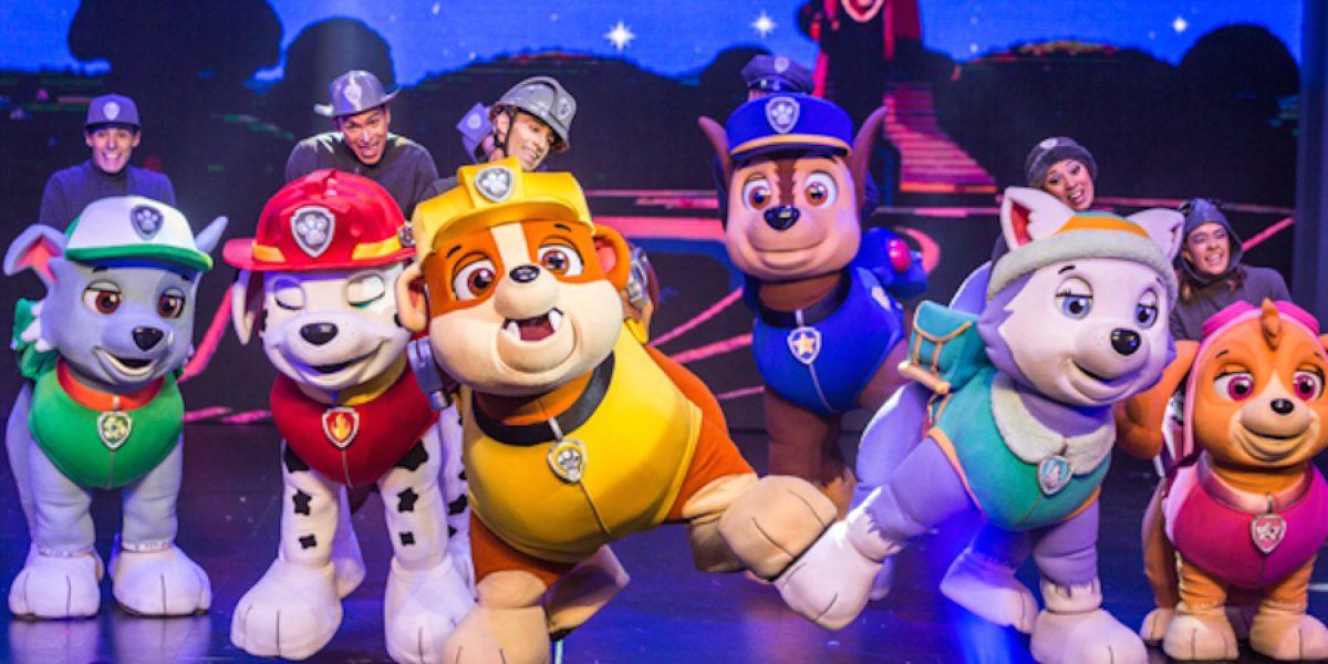 Paw Patrol llega al teatro con el espectáculo familiar ¡Carrera al rescate!
