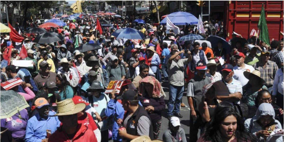 Este viernes dos manifestaciones afectarán la vialidad en la Ciudad de México