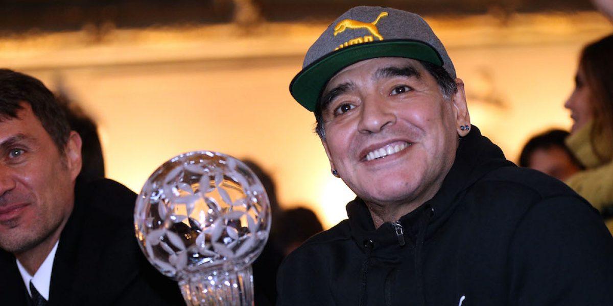 Revelan las fantasías sexuales de Diego Armando Maradona