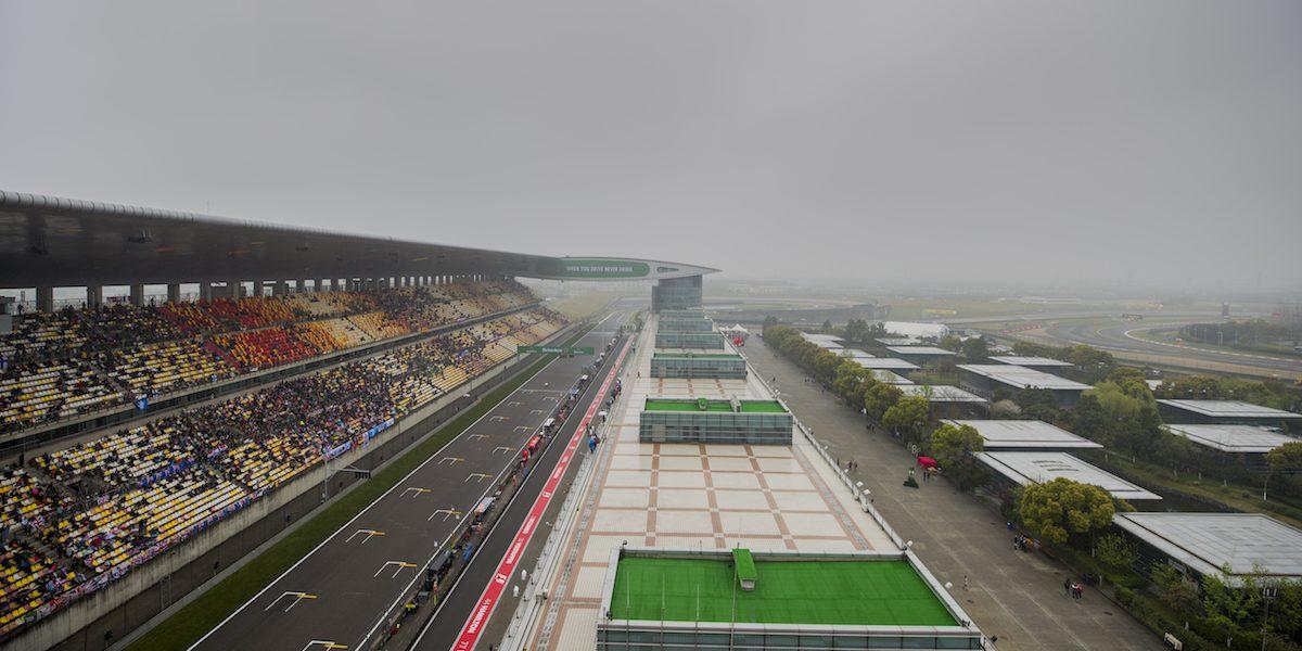 Suspenden pruebas del Gran Premio de China