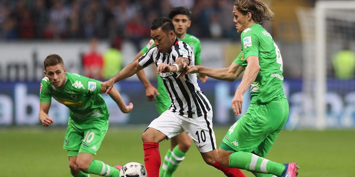 VIDEO: Marco Fabián anota con el Eintracht y lo salva de la derrota