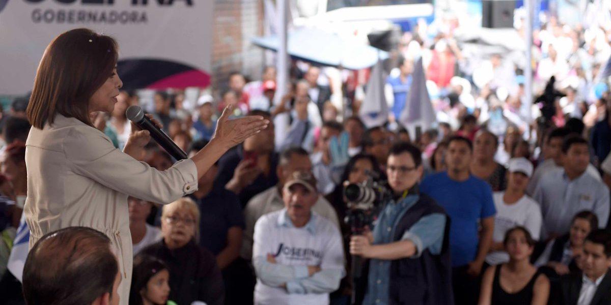 Vázquez Mota llama a eliminar la desigualdad en Edomex